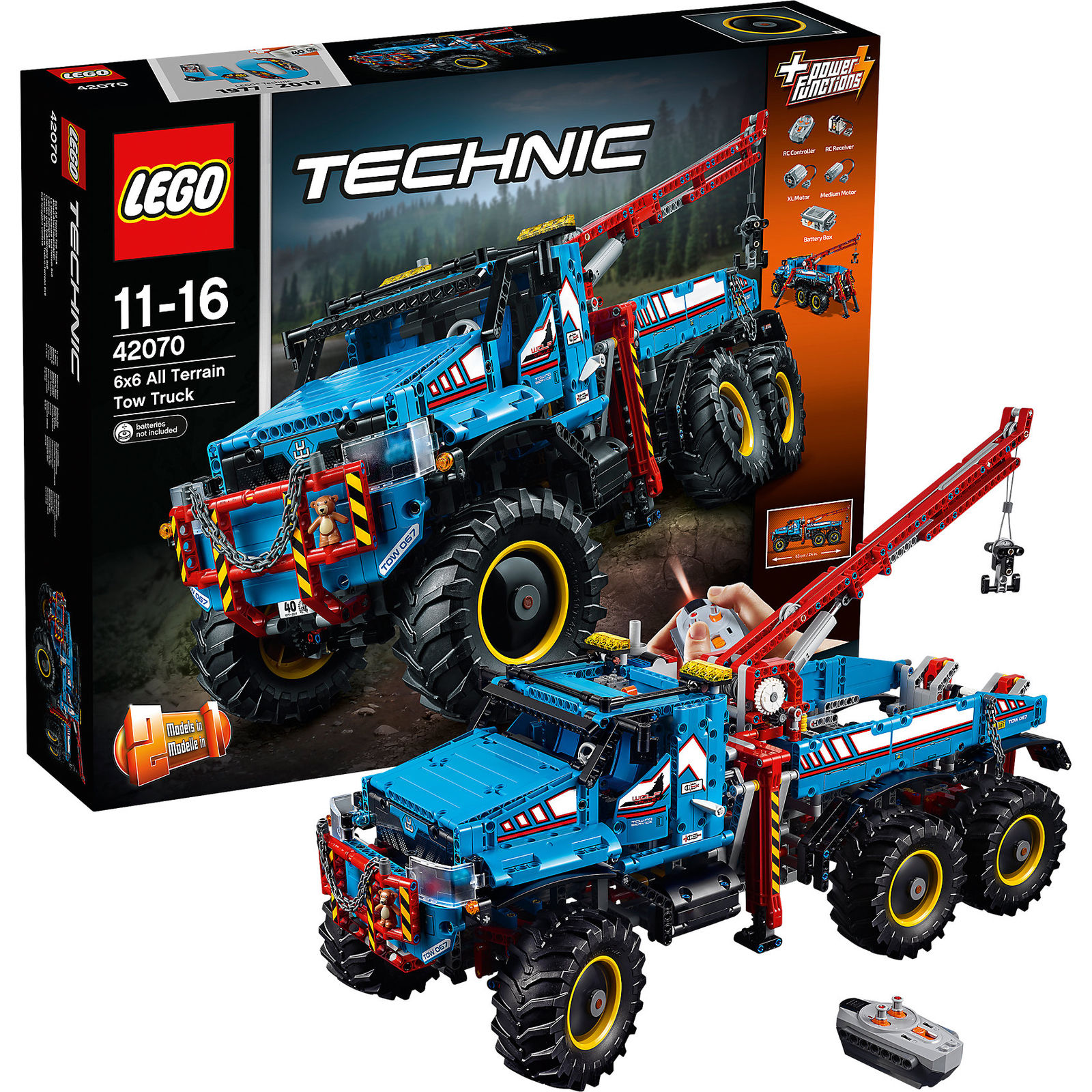LEGO 42070 Technic: Allrad-Abschleppwagen für 202,99€ inkl ...