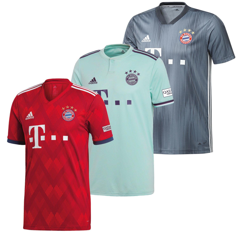 adidas FC Bayern München 2018/19 FCB Herren Heim, Auswärts ...